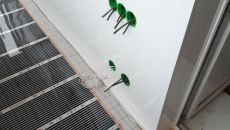 подключение-теплого-пола-на-балконе