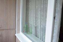 Внутренняя отделка балкона панельной хрущёвки