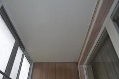 Потолок балкона с выносом