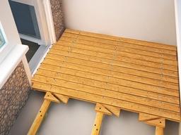 Услуги по отделке балконов и лоджий megapolis.