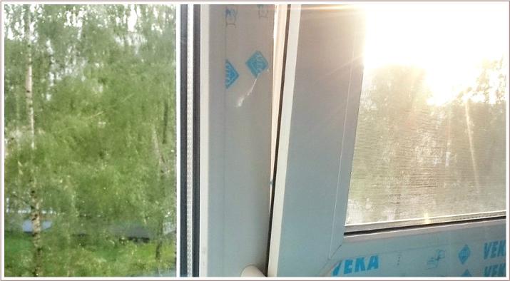 Ремонт откосов окна